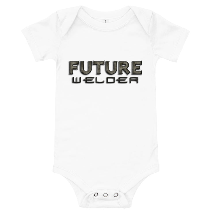 Future Welder Printed Infant Onesie