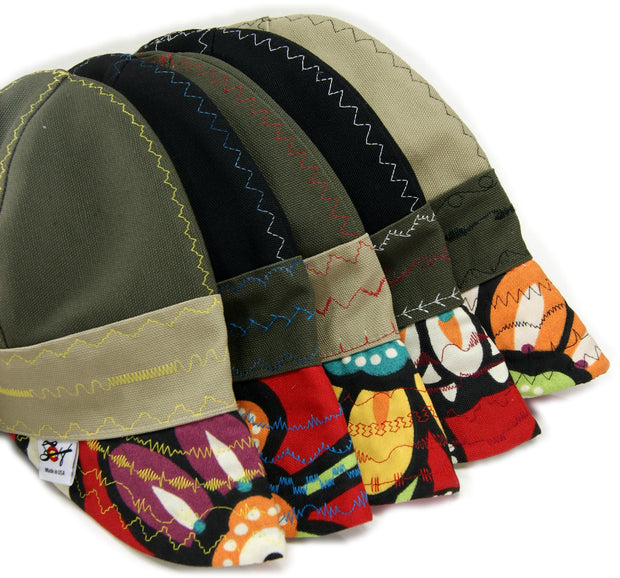 WILD & CRAZY Canvas Bill Two-Tone Canvas Welding Cap
