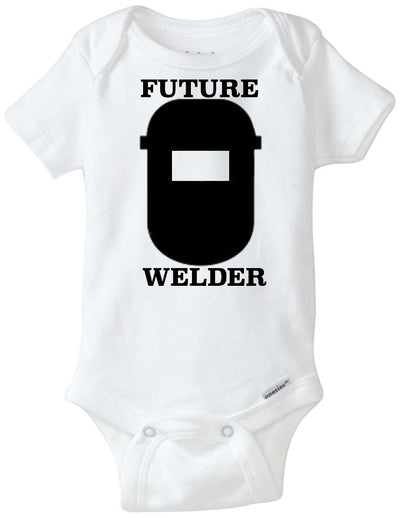 Future Welder Infant Organic Onesie