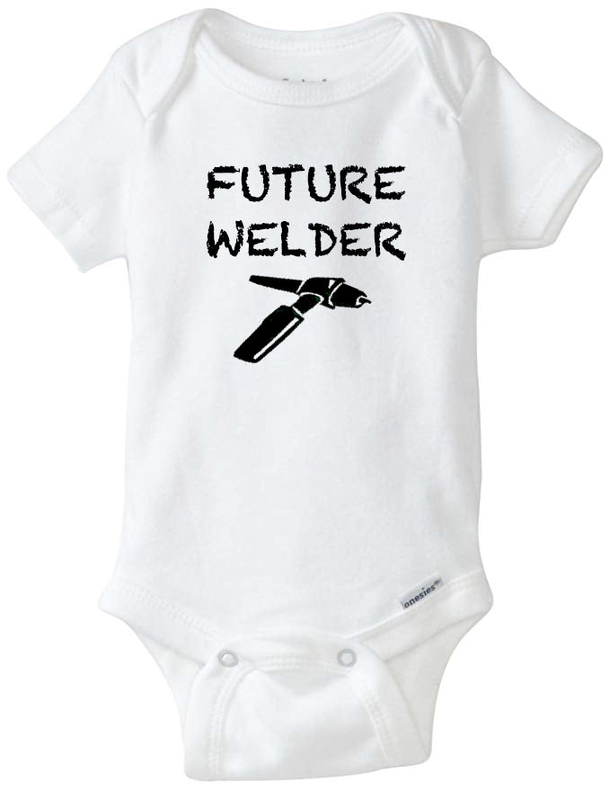 Future Welder Tig Torch Infant Organic Onesie