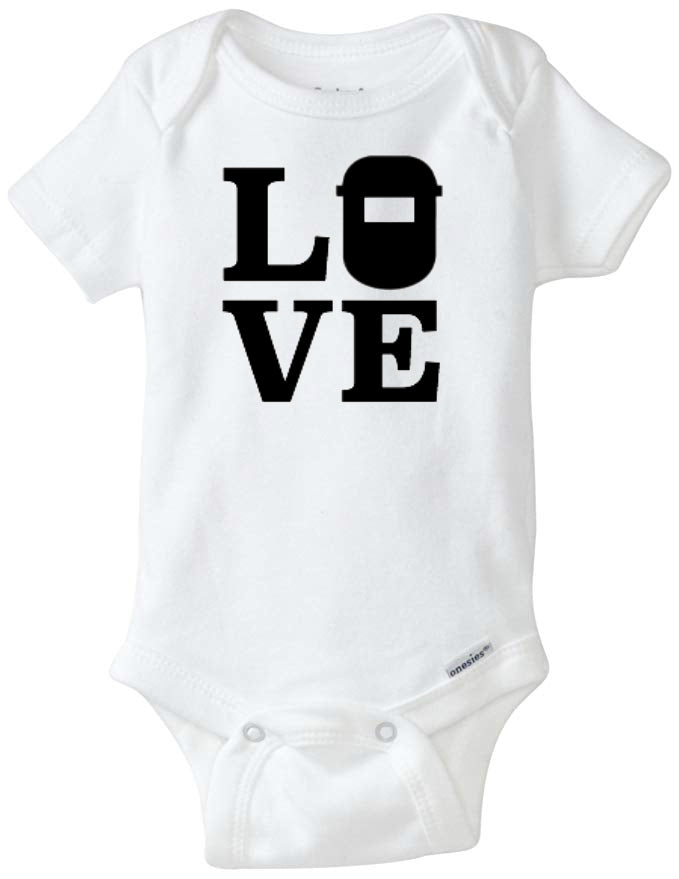 Love Welder Infant Organic Onesie