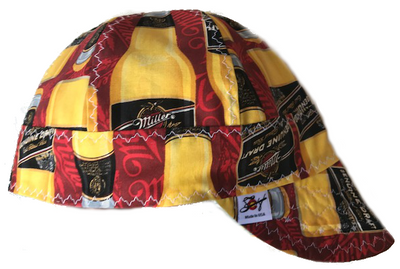 Miller Genuine Draft 100% Cotton Lined Welding Cap