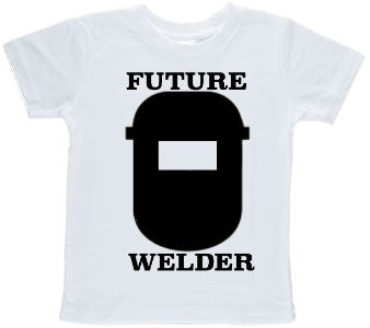 Future Welder Printed Toddler T-shirt