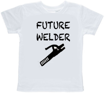 Future Stick Welder Toddler T-shirt