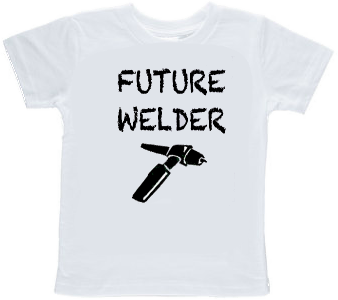 Future Welder Tig Torch Toddler T-shirt