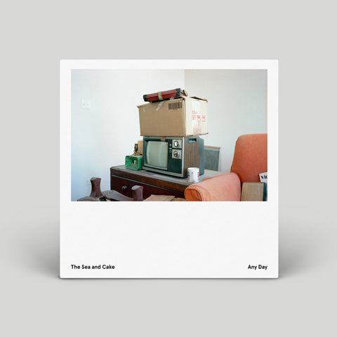 The Sea And Cake - Any Day (Vinil blanco, edición limitada, indie version) - PRE VENTA