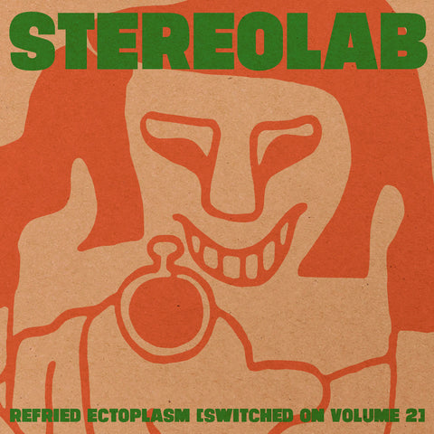 Stereolab - Refried Ectoplasm [Switched On Volume 2] 2xLP Limited Clear Vinyl