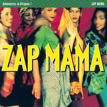 Zap Mama - Adventures in Afropea (magenta splatter color vinyl - RSD 2020)