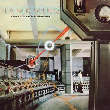 Hawkwind - Quark, Strangeness & Charm (2xLP Crystal Clear 140 Gram Vinyl, bonus LP feat. 5 alternate studio session takes released for the first time, limited to 1500, indie exclusive)