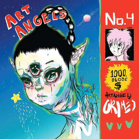 Grimes - Art Angels Vinil - Salvaje Music Store MEXICO