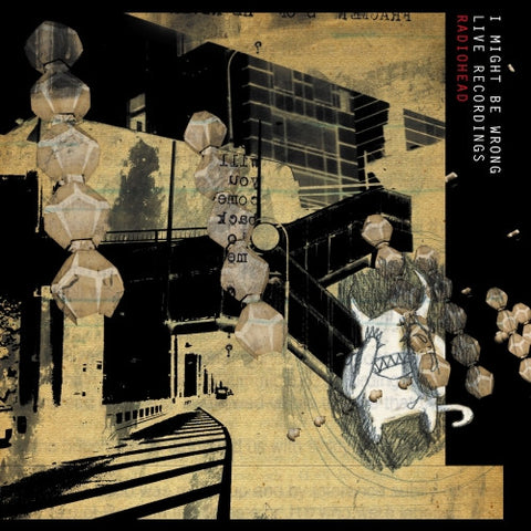 Radiohead - I Might Be Wrong: Live Recordings [2016 Issue] (LP) Vinil - Salvaje Music Store MEXICO