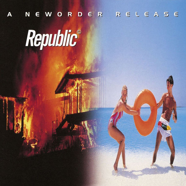 New Order - Republic Vinil - Salvaje Music Store MEXICO
