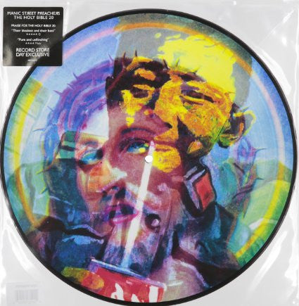 Manic Street Preachers - The Holy Bible (Picture Disc) Vinil - Salvaje Music Store MEXICO
