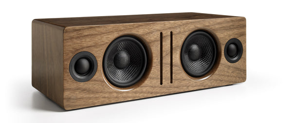 Audioengine bocina Bluetooth de escritorio, color walnut - B2