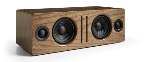 Audioengine bocina Bluetooth de escritorio, color walnut - B2 bocinas - Salvaje Music Store MEXICO