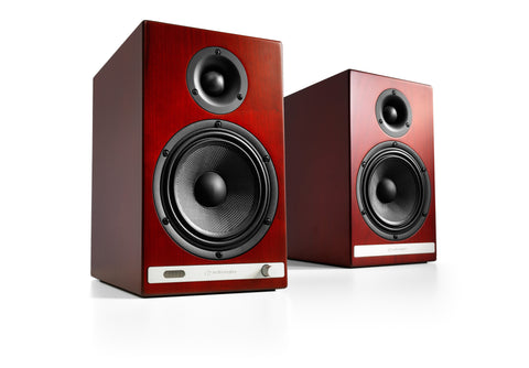 Audioengine bocinas inalámbricas HD6 - Color Cherry (auto amplificadas)
