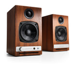 Audioengine bocinas inalámbricas HD3 - Color walnut (auto amplificadas) bocinas - Salvaje Music Store MEXICO