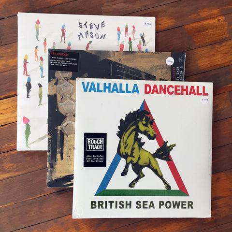 Radiohead, Steve Mason, British Sea Power - Pack 13 Vinil - Salvaje Music Store MEXICO
