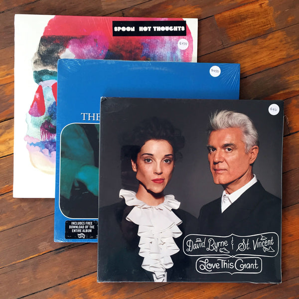 Spoon, David Byrne & St. Vincent´s, The New Pornographers - Pack 14 Vinil - Salvaje Music Store MEXICO