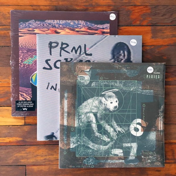 Pixies, Primal Scream, Guided by Voices - Pack 12 Vinil - Salvaje Music Store MEXICO