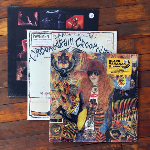Black Bananas, Pavement, Royal Trux - Pack 10 Vinil - Salvaje Music Store MEXICO
