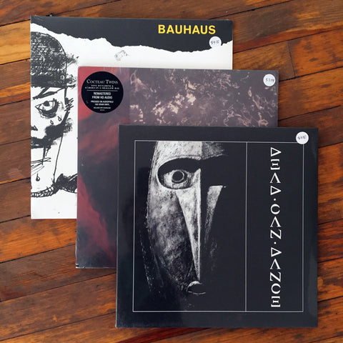 Dead Can Dance, Cocteau Twins, Bauhaus - Pack 8 Vinil - Salvaje Music Store MEXICO