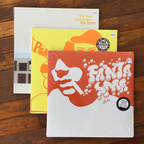 Cornelius, Stereolab, The Sea and Cake - Pack 7 Vinil - Salvaje Music Store MEXICO