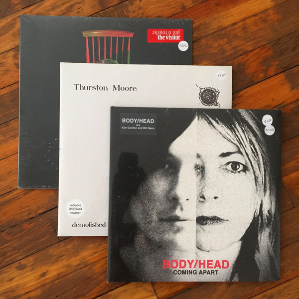 Body/Head, Thurston Moore, Jim O´Rourke - Pack 15 Vinil - Salvaje Music Store MEXICO