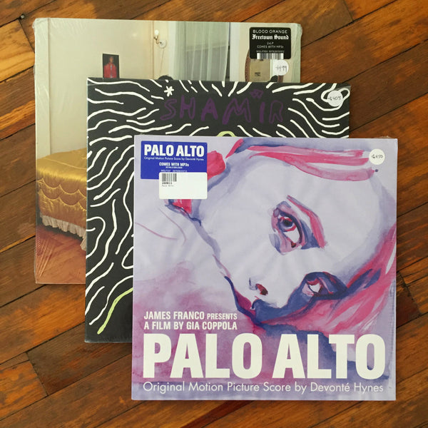 Blood Orange, Shamir, Devonté Hynes - Pack 24 Vinil - Salvaje Music Store MEXICO