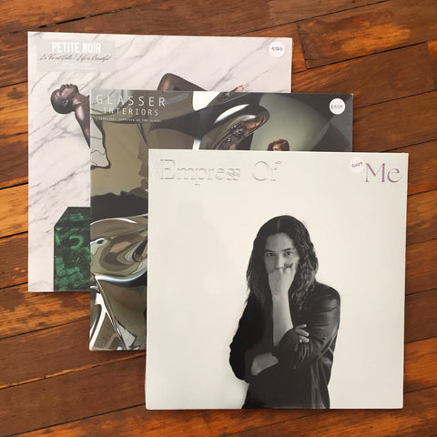Empress Of, Glasser, Petite Noir - Pack 25 Vinil - Salvaje Music Store MEXICO