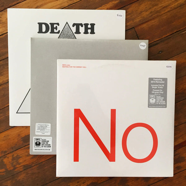 Joy Division, New Order, Death - Pack 27 Vinil - Salvaje Music Store MEXICO