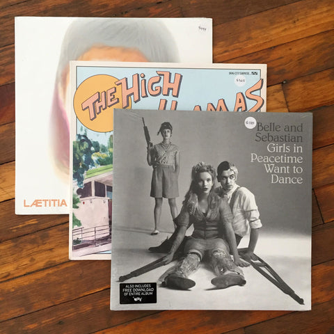 Belle and Sebastian, The High Llamas, Laetitia Sadier - Pack 19 Vinil - Salvaje Music Store MEXICO