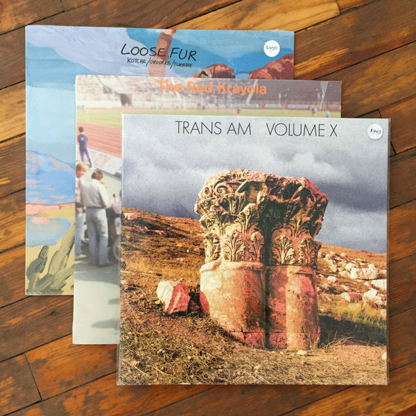 Trans Am, Loose Fur, The Red Krayola - Pack 33