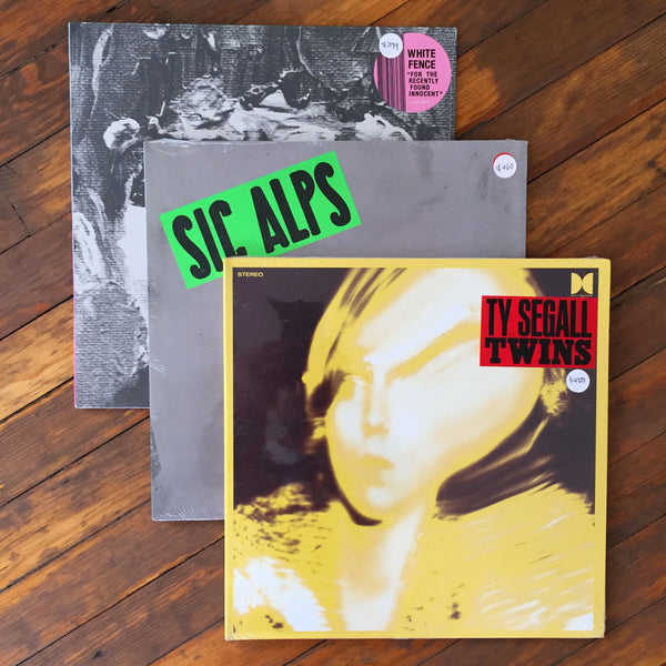 Ty Segall, Sic Alps, White Fence - Pack 32 Vinil - Salvaje Music Store MEXICO