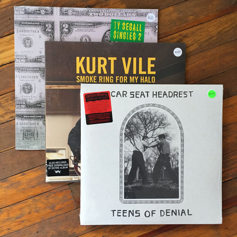 Car Seat Headrest, Kurt Vile, Ty Segall - Pack 36 Vinil - Salvaje Music Store MEXICO