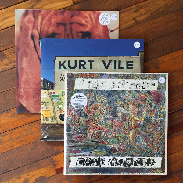 Cass McCombs, Kurt Vile, Ty Segall - Pack 37 Vinil - Salvaje Music Store MEXICO