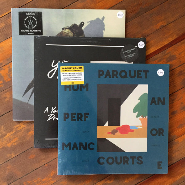 Parquet Courts, Yung, Iceage - Pack 38 Vinil - Salvaje Music Store MEXICO