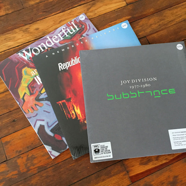 New Order, The Fall, Joy Division - Pack 44 Vinil - Salvaje Music Store MEXICO
