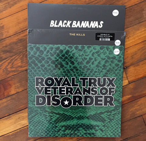 The Kills, Royal Trux, Black Bananas - Pack 47