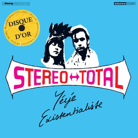 Stereo Total - Yeye Existentialiste (180g, 2xLP Color vinyl)