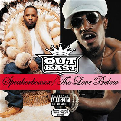 Outkast - Speakerboxxx/The Love Below (4xLP) Vinil - Salvaje Music Store MEXICO