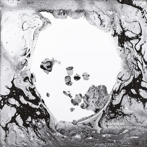 Radiohead - A Moon Shaped Pool (Limited Edition - 180G, vinil de color blanco) Vinil - Salvaje Music Store MEXICO