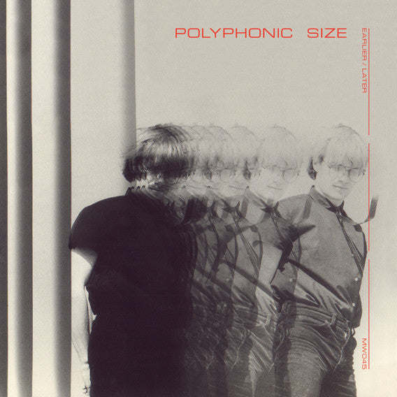 Polyphonic Size - Earlier / Later [vinil rojo] Vinil - Salvaje Music Store MEXICO