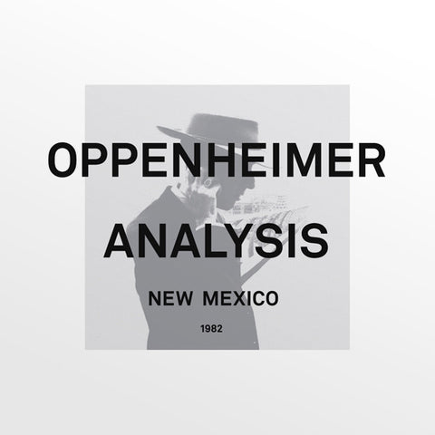 Oppenheimer Analysis - New Mexico [2XLP] Vinil - Salvaje Music Store MEXICO