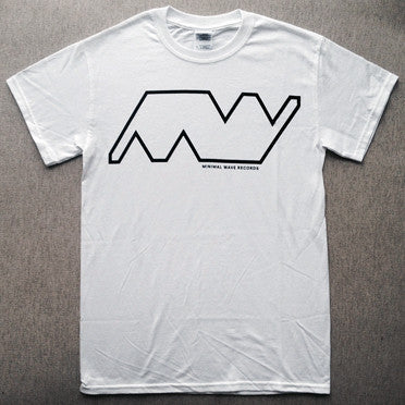 Minimal Wave - T-shirt [Blanca] playera - Salvaje Music Store MEXICO