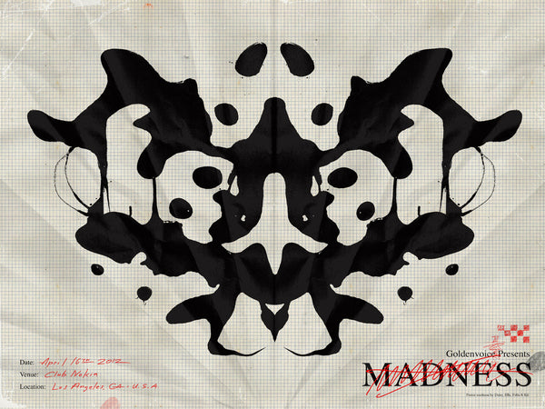 Madness Print - Salvaje Music Store MEXICO