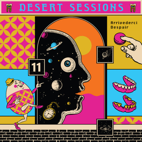 Desert Sessions - Vol. 11 & 12 (Limited Edition Vinyl) Vinil - Salvaje Music Store MEXICO