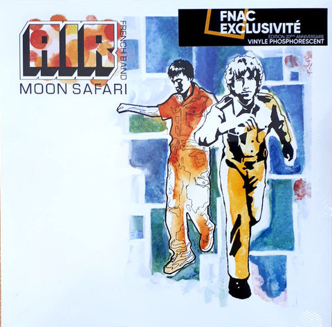 AIR - Moon Safari (Glow, Phosphorescent)