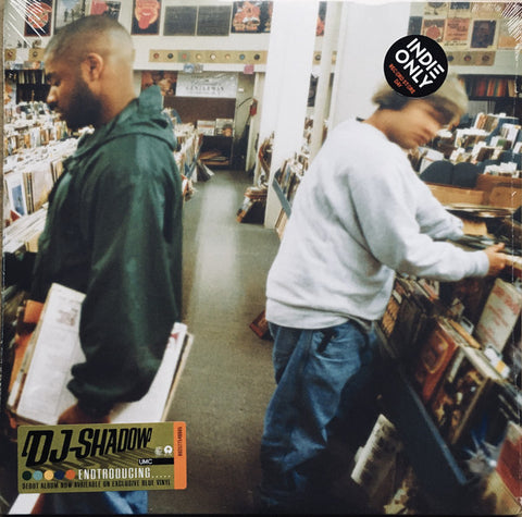DJ Shadow - Endtroducing...(2xLP blue vinyl)
