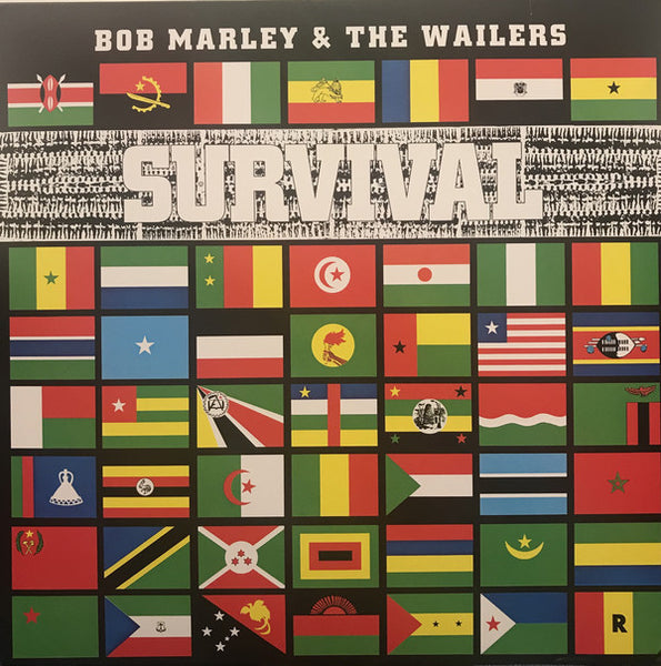 Bob Marley & The Wailers - Survival (1LP/180g Clear 40th)